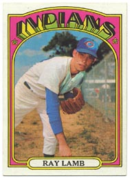 1972 Topps Baseball Cards      422     Ray Lamb